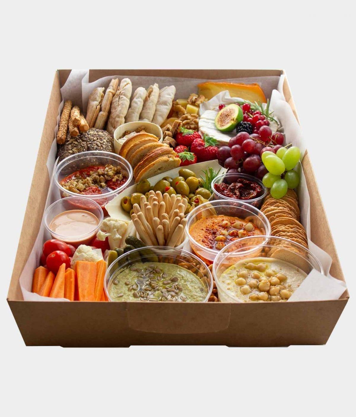 Vegetarian apero box